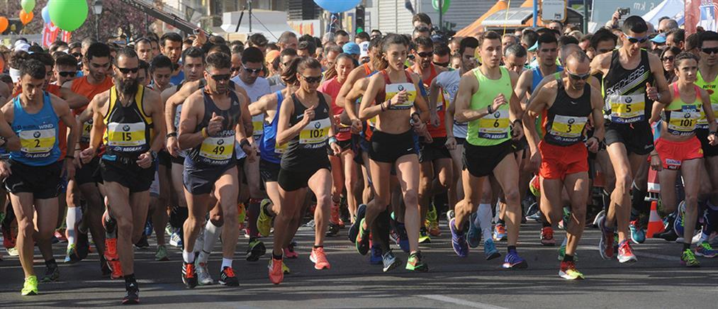 Ρεκόρ συμμετοχών στον 34ο Μαραθώνιο της Αθήνας