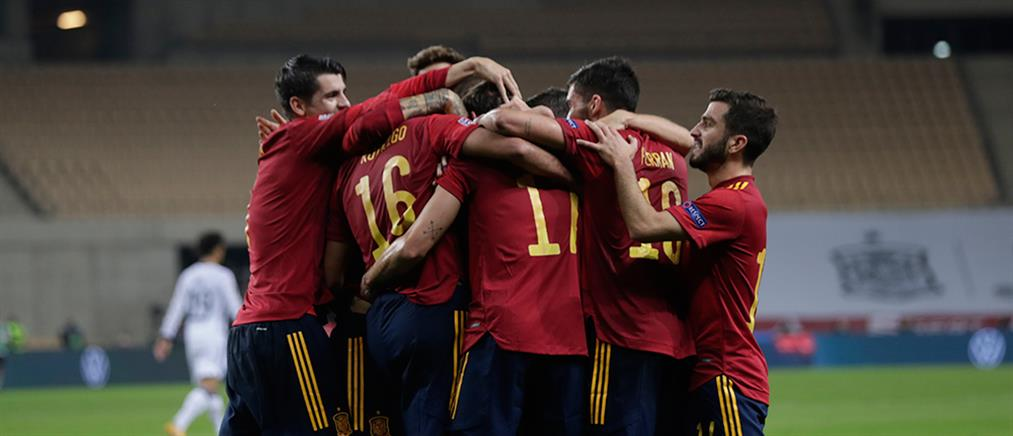Nations League: η Ισπανία διέσυρε τη Γερμανία