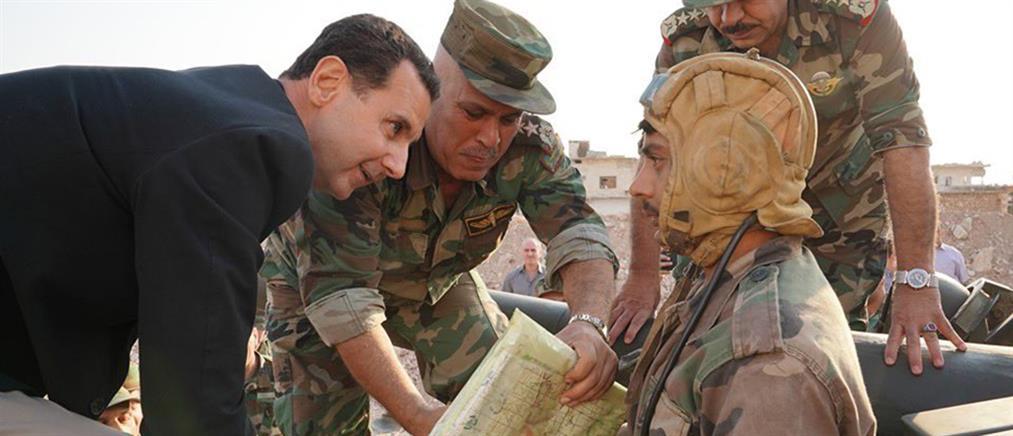 Άσαντ: ο Ερντογάν είναι κλέφτης και τώρα κλέβει τη γη μας