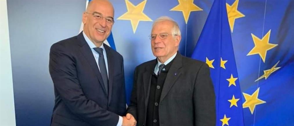Παρέμβαση της ΕΕ για τις τουρκικές προκλήσεις ζήτησε ο Δένδιας