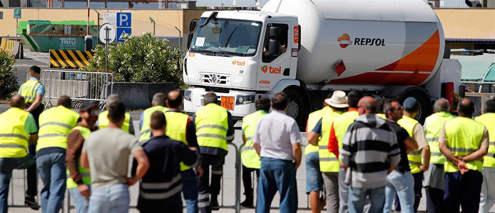"""""""Έμεινε"""" από καύσιμα η Πορτογαλία"""