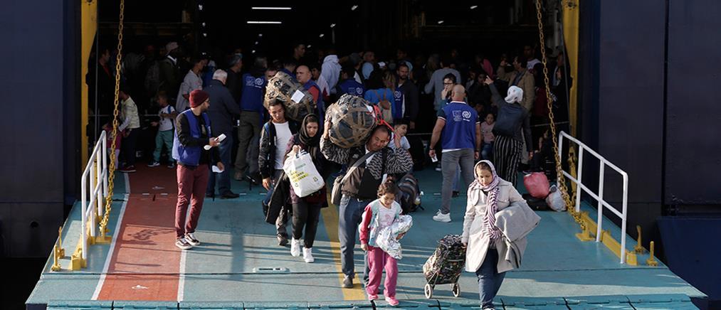 Στην Αττική εκατοντάδες αιτούντες άσυλο από Μυτιλήνη και Σάμο