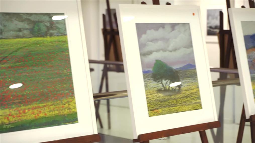 Εκθεση ζωγραφικής από τον Λουδοβίκο των Ανωγείων