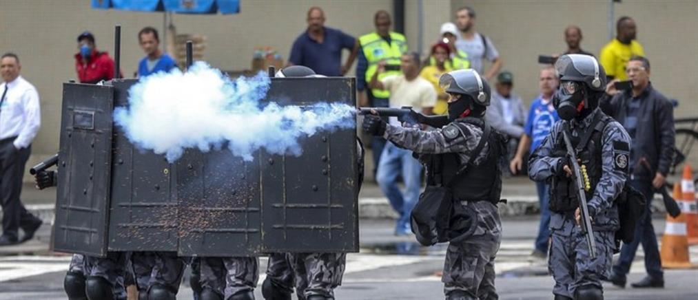 Βίαια επεισόδια συγκλονίζουν τη Βραζιλία (βίντεο)