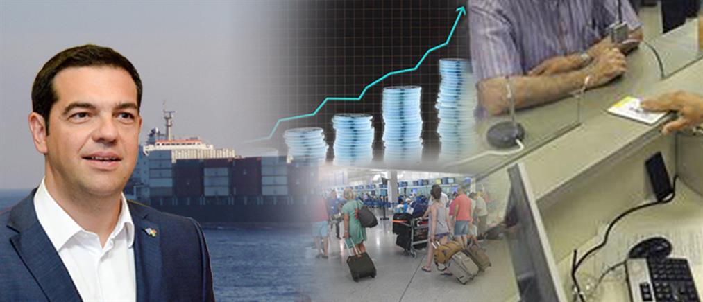 """Στο 1,4% """"υποχώρησε"""" η ανάπτυξη το 2017"""