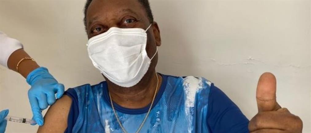 Κορονοϊός - Πελέ: Έκανα το εμβόλιο, αξέχαστη εμπειρία