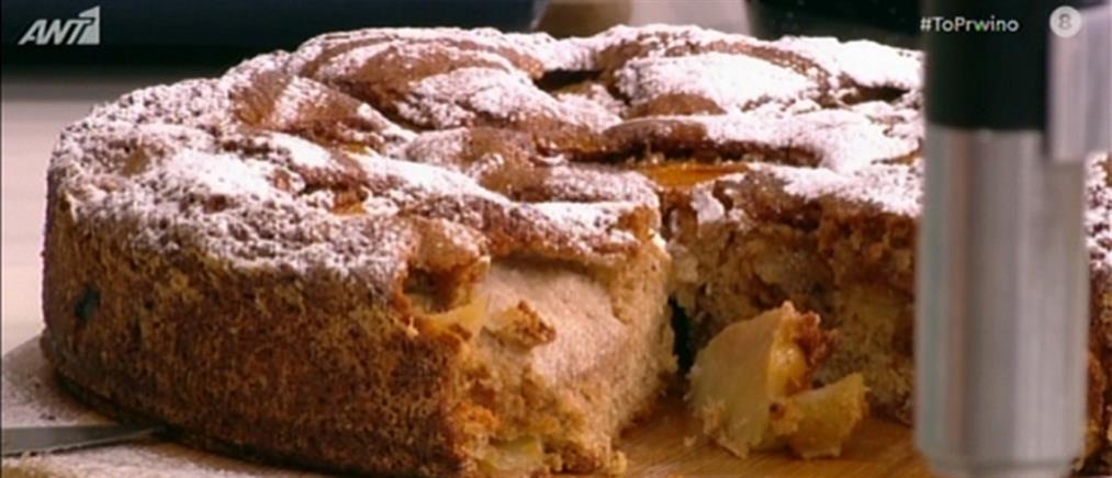 Brunch με ομελέτα, κροκ μαντάμ και κέικ με μήλα από τον Βασίλη Καλλίδη (βίντεο)