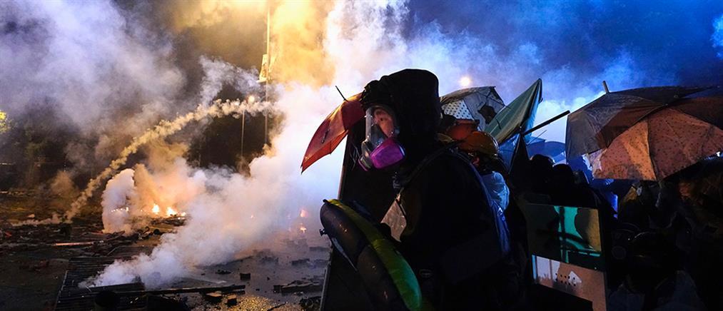 Χονγκ Κονγκ: διαδηλωτές κατέλαβαν το Πολυτεχνείο