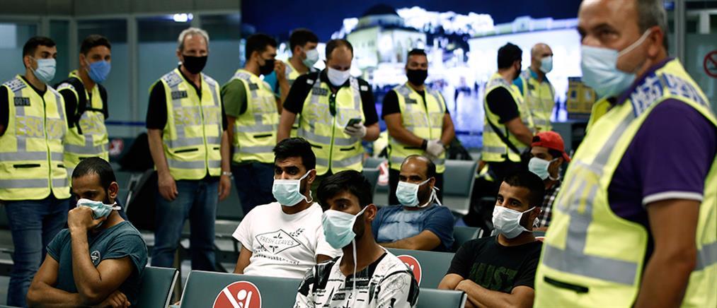 Επανέναρξη των απελάσεων μετά το άνοιγμα των συνόρων (εικόνες)