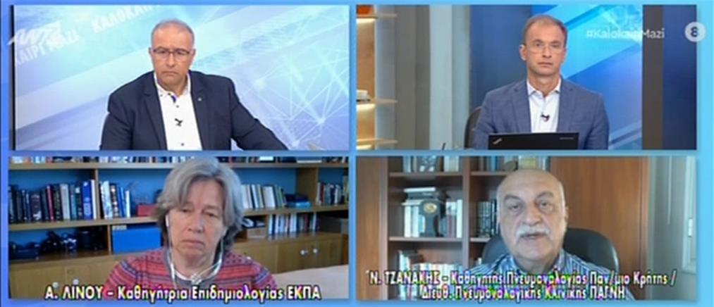 Κορονοϊός - Τζανάκης: η μετάλλαξη Δέλτα θα επικρατήσει - κοντά στα 100.000 τα ενεργά κρούσματα