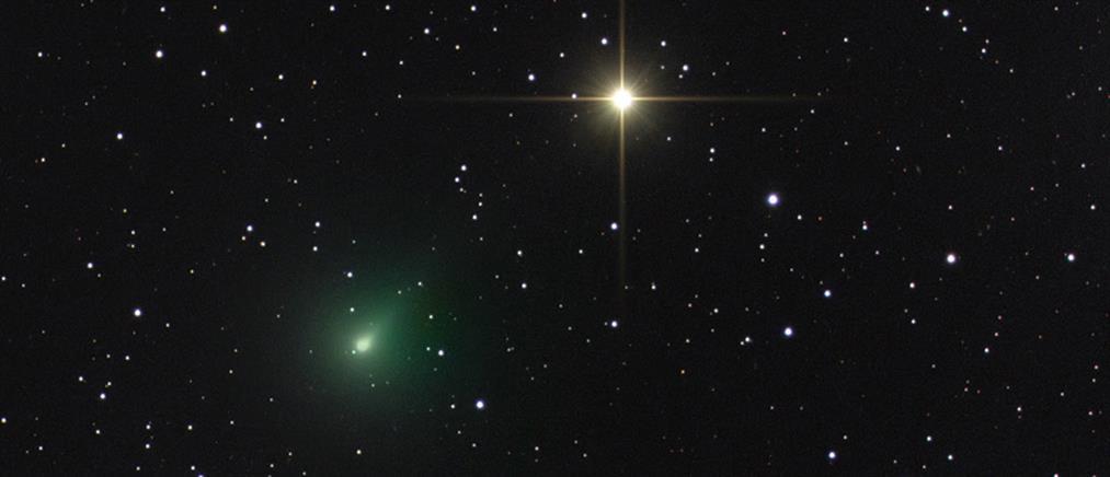 """""""Άτλας"""": Ο πράσινος κομήτης που διασχίζει τον ανοιξιάτικο ουρανό (εικόνες)"""