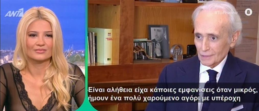 """Αποκλειστικά στο """"Πρωινό"""": Ο Χοσέ Καρρέρας για το σκάνδαλο σεξουαλικής παρενόχλησης και τον Πλάθιντο Ντομίνγκο (βίντεο)"""