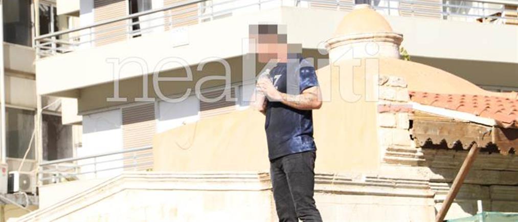 Άνδρας απειλεί να αυτοπυρποληθεί μπροστά στα παιδιά του (εικόνες)