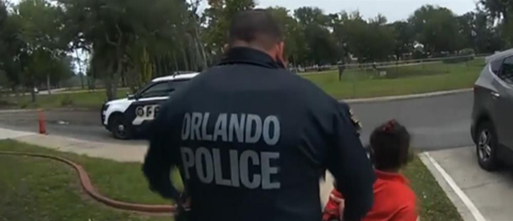 Καρέ –καρέ η σύλληψη 6χρονης (βίντεο)