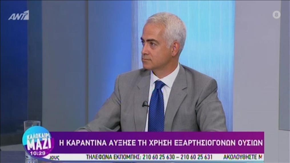 Πρόεδρος ΚΕΘΕΑ: αύξηση της χρήσης εξαρτησιογόνων ουσιών στην καραντίνα
