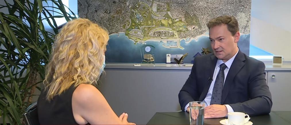 Lamda Development: ο Οδυσσέας Αθανασίου στον ΑΝΤ1 για το Ελληνικό (βίντεο)