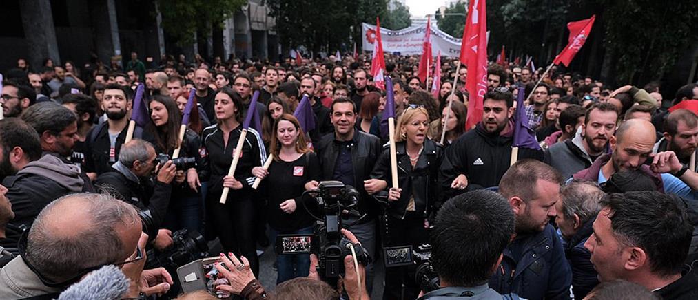 Τσίπρας για την πορεία του Πολυτεχνείου: οι πολίτες έδωσαν απάντηση στον αυταρχισμό