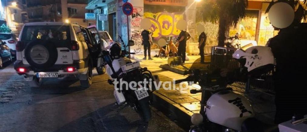 Άγρια συμπλοκή μεταξύ αλλοδαπών στο κέντρο της Θεσσαλονίκης
