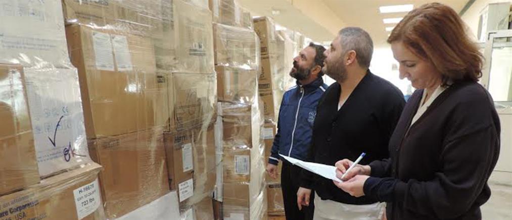 Υγειονομικό υλικό στην Θράκη παρέδωσαν η «Αποστολή» και ο  IOCC