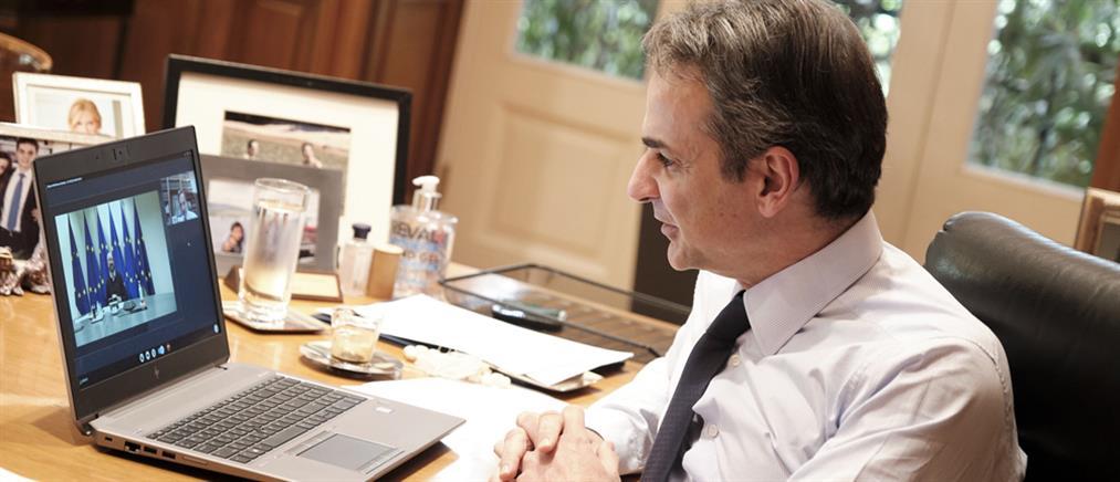 Μητσοτάκης – Σαρλ Μισέλ: Τηλεδιάσκεψη για κορονοϊό και Τουρκία