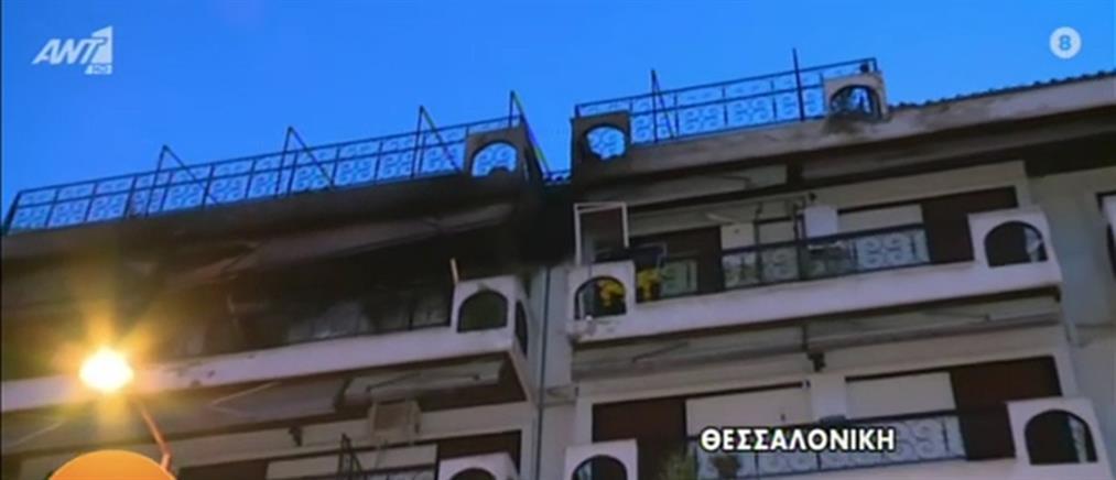 Φωτιά σε διαμέρισμα (εικόνες)