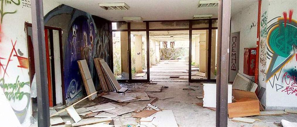 """""""Βομβαρδισμένα"""" τοπία θυμίζουν οι φοιτητικές εστίες (φωτό)"""