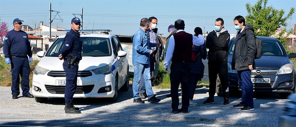 """Κορονοϊός: """"Σαφάρι"""" ελέγχων σε οικισμούς Ρομά στην Θεσσαλία"""