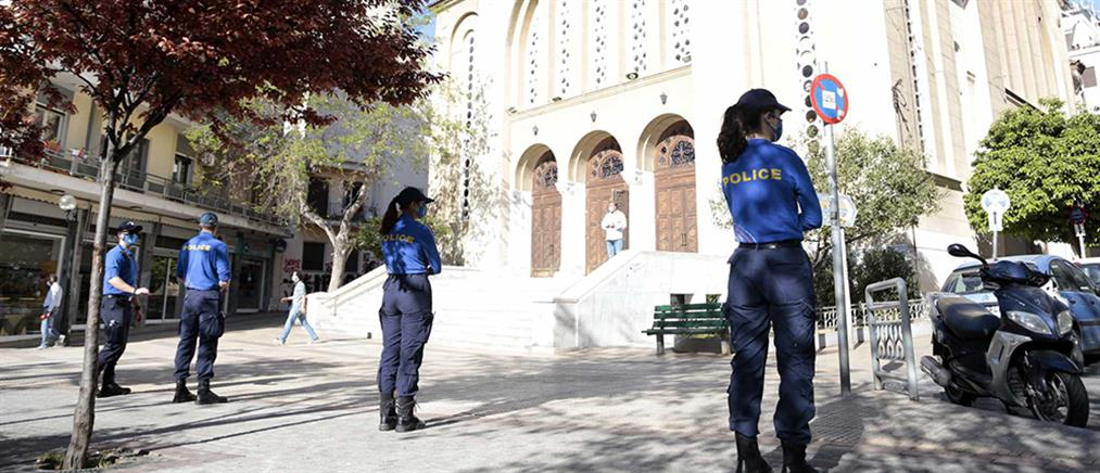 Lockdown - Κυψέλη: Επιχείρηση της ΕΛΑΣ στην πλατεία Αγίου Γεωργίου
