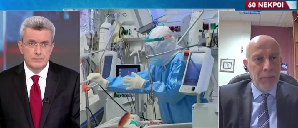 Κορονοϊός - Τσακρής στον ΑΝΤ1: Δεν αρκεί μόνο το εμβόλιο, χρειάζεται στρατηγική (βίντεο)