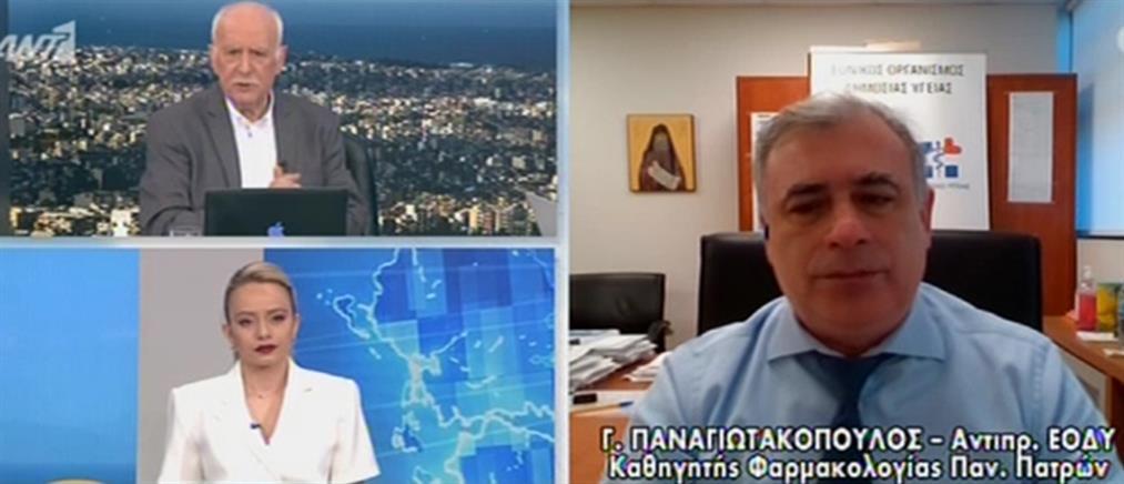 Self test – Παναγιωτακόπουλος στον ΑΝΤ1: Θα διερευνηθεί αν πρόκειται για λάθος παρτίδα