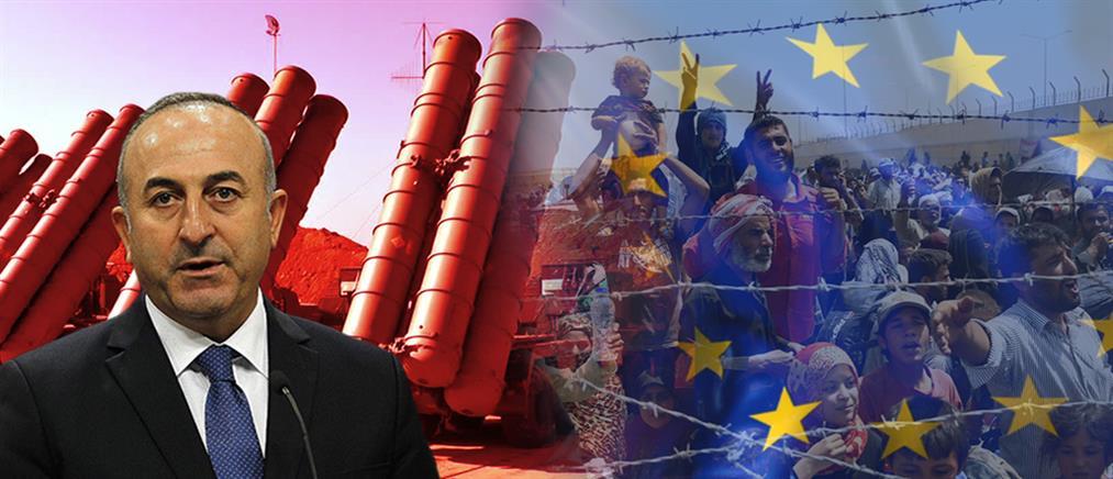Τσαβούσογλου: αναστολή της συμφωνίας με την ΕΕ για το προσφυγικό