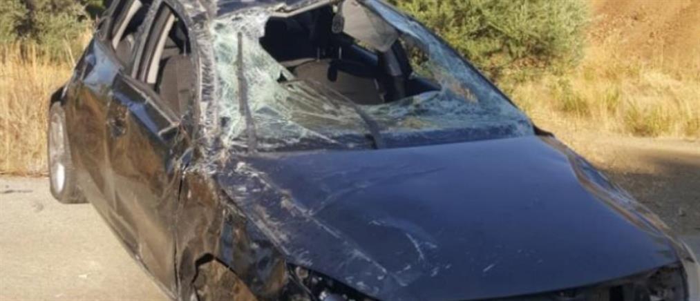 Διασωληνωμένη η 17χρονη οδηγός που τραυματίστηκε στον Κόρνο
