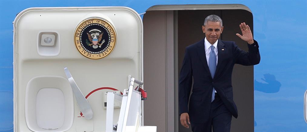 Στην Αθήνα ο Μπαράκ Ομπάμα (βίντεο)