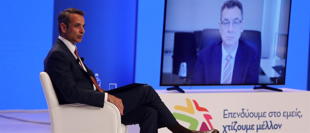 Μητσοτάκης στον ΣΕΒ: Είναι η ώρα να επενδύσετε στην Ελλάδα
