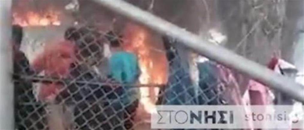 Νεκρό παιδί απο την φωτιά στην Μόρια