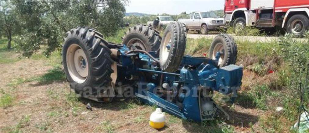Τρακτέρ καταπλάκωσε νεαρό αγρότη (εικόνες)