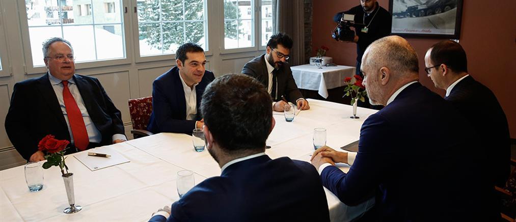 Τι συζήτησε ο Τσίπρας με Ράμα και Ντβορκόβιτς