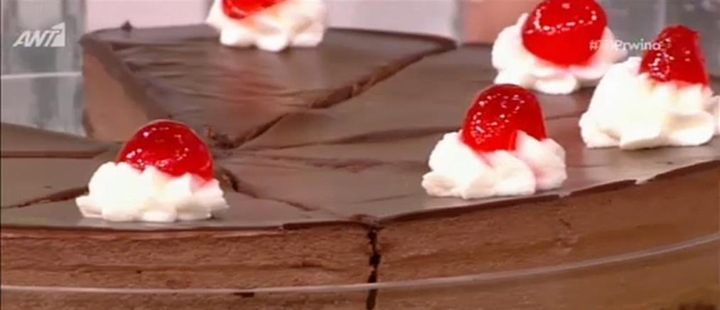 Τούρτα σοκολατίνα από τον Δημήτρη Μακρυνιώτη