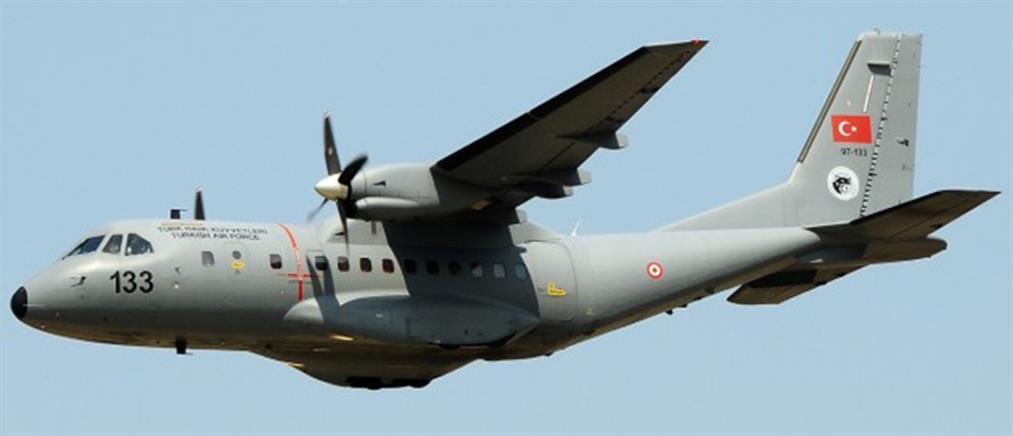 Υπέρπτηση τουρκικού αεροσκάφους πάνω από τη νήσο Παναγιά