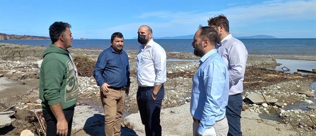"""Τζανακόπουλος - Βόρεια Εύβοια: """"Εικόνα καταστροφής – Τεράστια η ευθύνη της κυβέρνησης"""""""