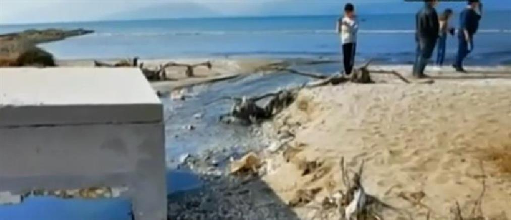 Ρύπανση στον Αργολικό Κόλπο: άλλαξε χρώμα η θάλασσα! (βίντεο)