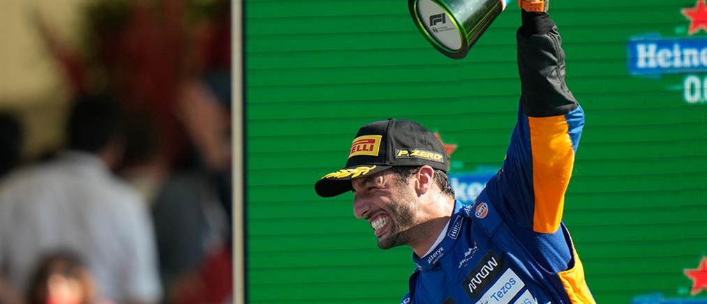 F1 – Μόντσα: νικητής ο Ρικιάρντο