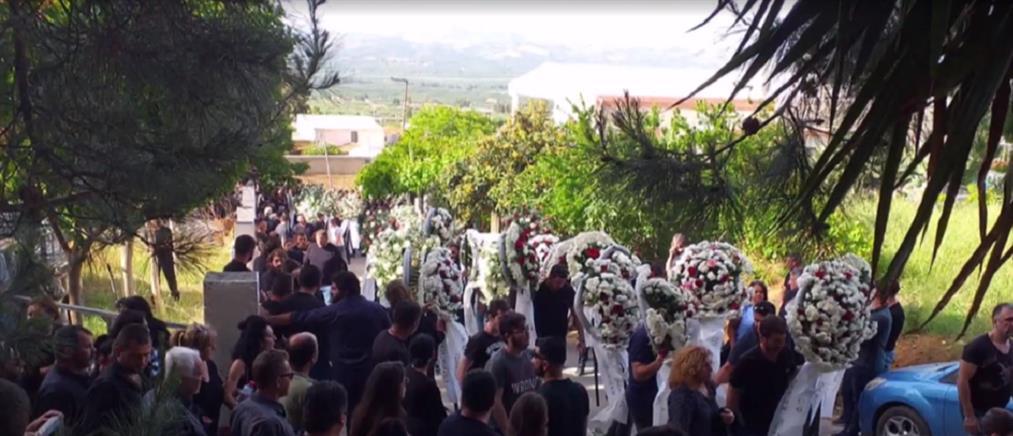 Θρήνος στην Κρήτη για τον 34χρονο πατέρα (βίντεο)