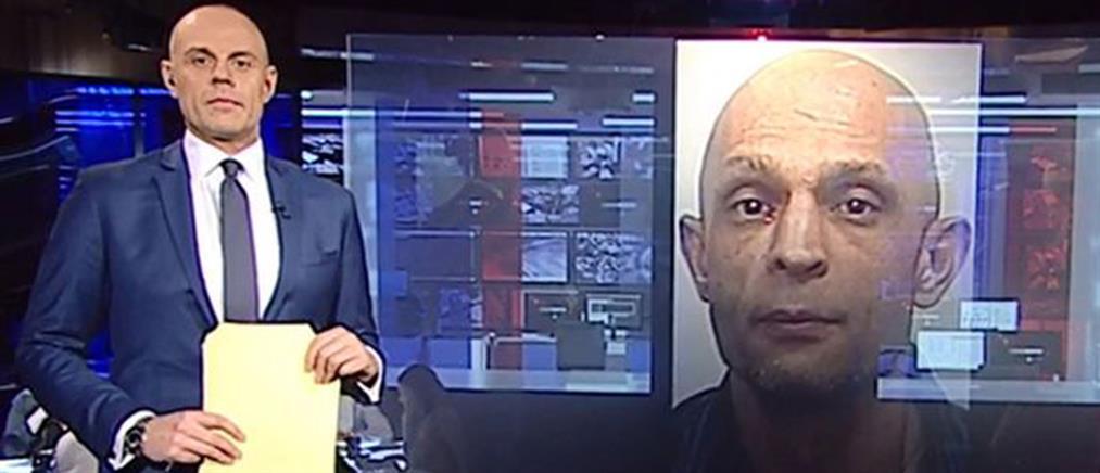 Σάστισαν οι τηλεθεατές με την ομοιότητα ληστή και… παρουσιαστή (Βίντεο)