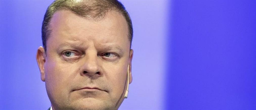 Ο Πρωθυπουργός της Λιθουανίας ανακοίνωσε ότι πάσχει από καρκίνο