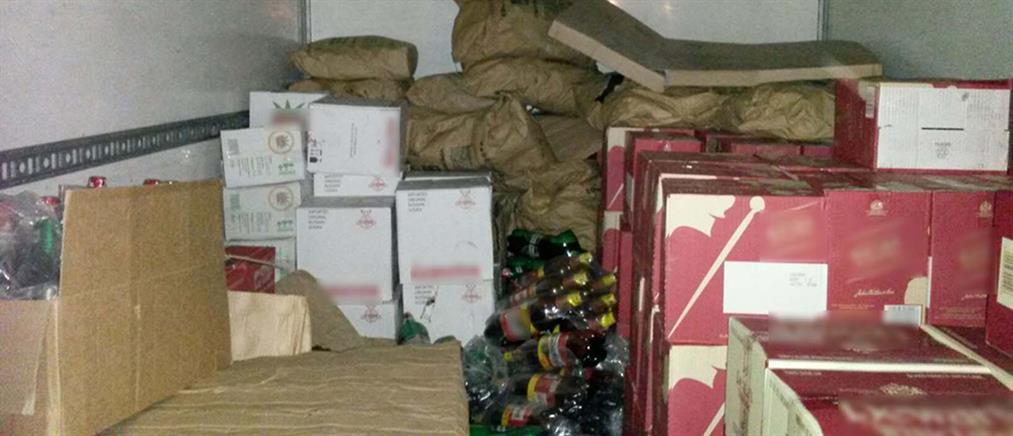 Αξιωματικός του Π.Ν. συνελήφθη για λαθρεμπόριο αλκοολούχων ποτών
