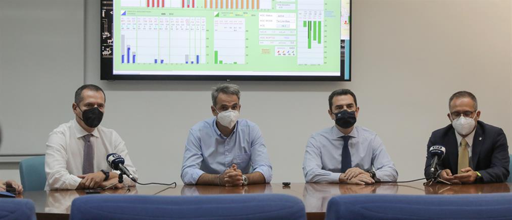 Καύσωνας – Μητσοτάκης για ρεύμα: Ζητάμε τη βοήθεια των καταναλωτών