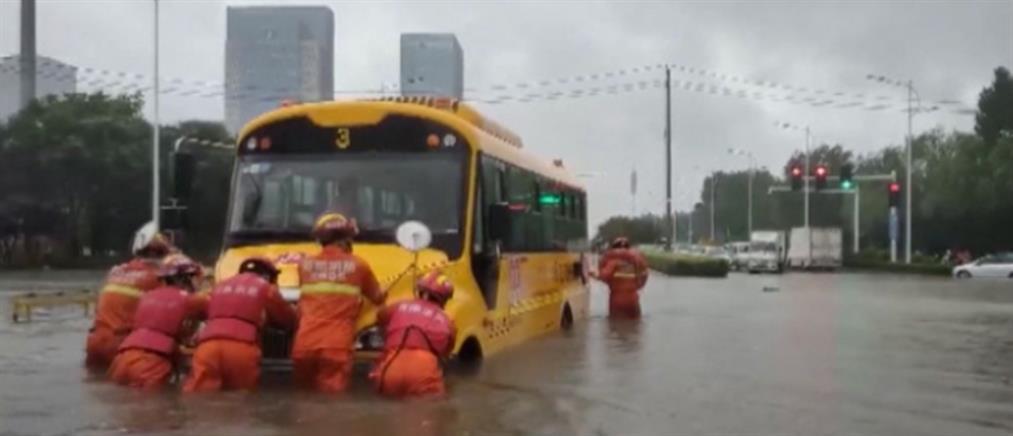 Κίνα: Φονικές πλημμύρες (εικόνες)