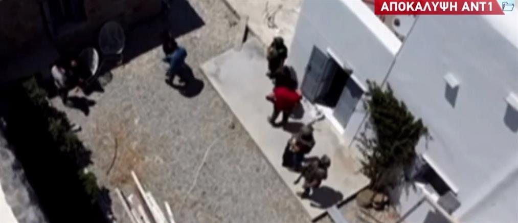 Μύκονος: Εξάρθρωση κυκλώματος ναρκωτικών με drone (εικόνες)
