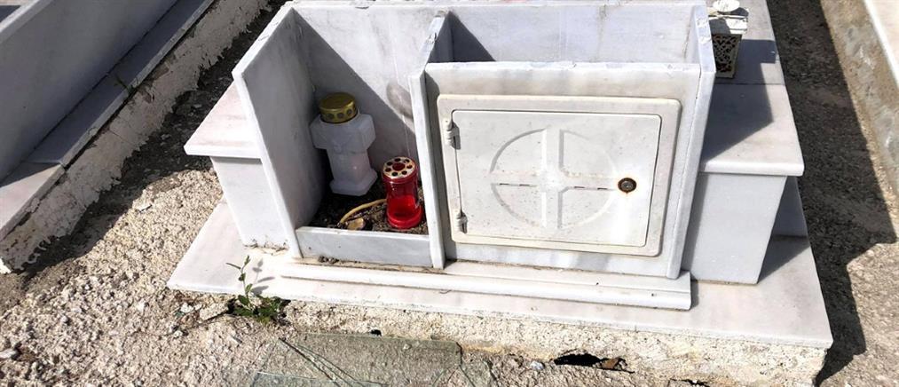 Θεσσαλονίκη: Έκλεψαν δεκάδες καντήλια και θυμιατά από τάφους (εικόνες)